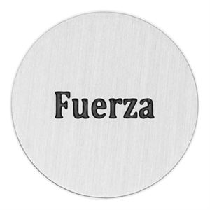 Picture of 'Fuerza' Large Silver Coin